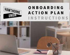 Onboarding Action Plan (OAP) Instructions